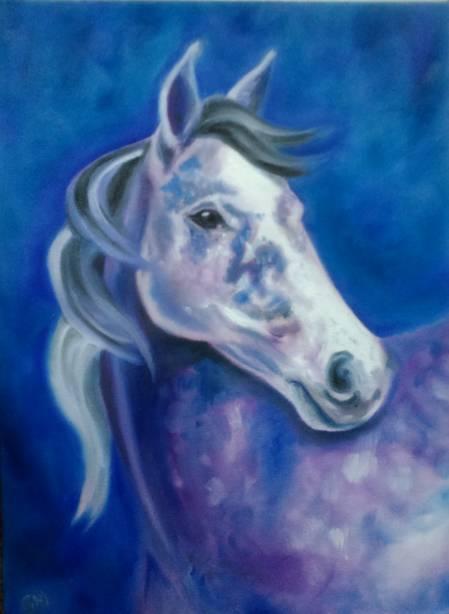 Equine, Art, Fantasy, Georgie McBurney, Somerset, Dorset