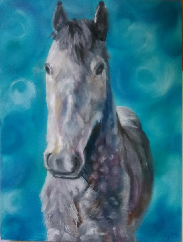 Equine, Art, Georgie McBurney, Somerset, Dorset