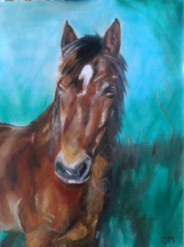 Equine, Artist, Georgie McBurney, Somerset, Dorset