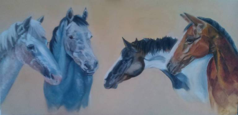 Equine Art, Dorset, Somerset, Georgie McBurney