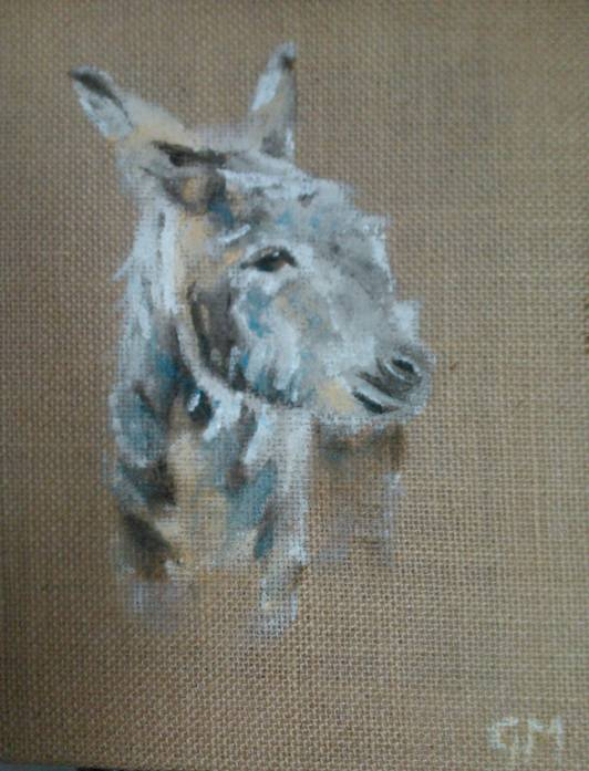 Donkey, Art, Georgie McBurney, Somerset, Dorset