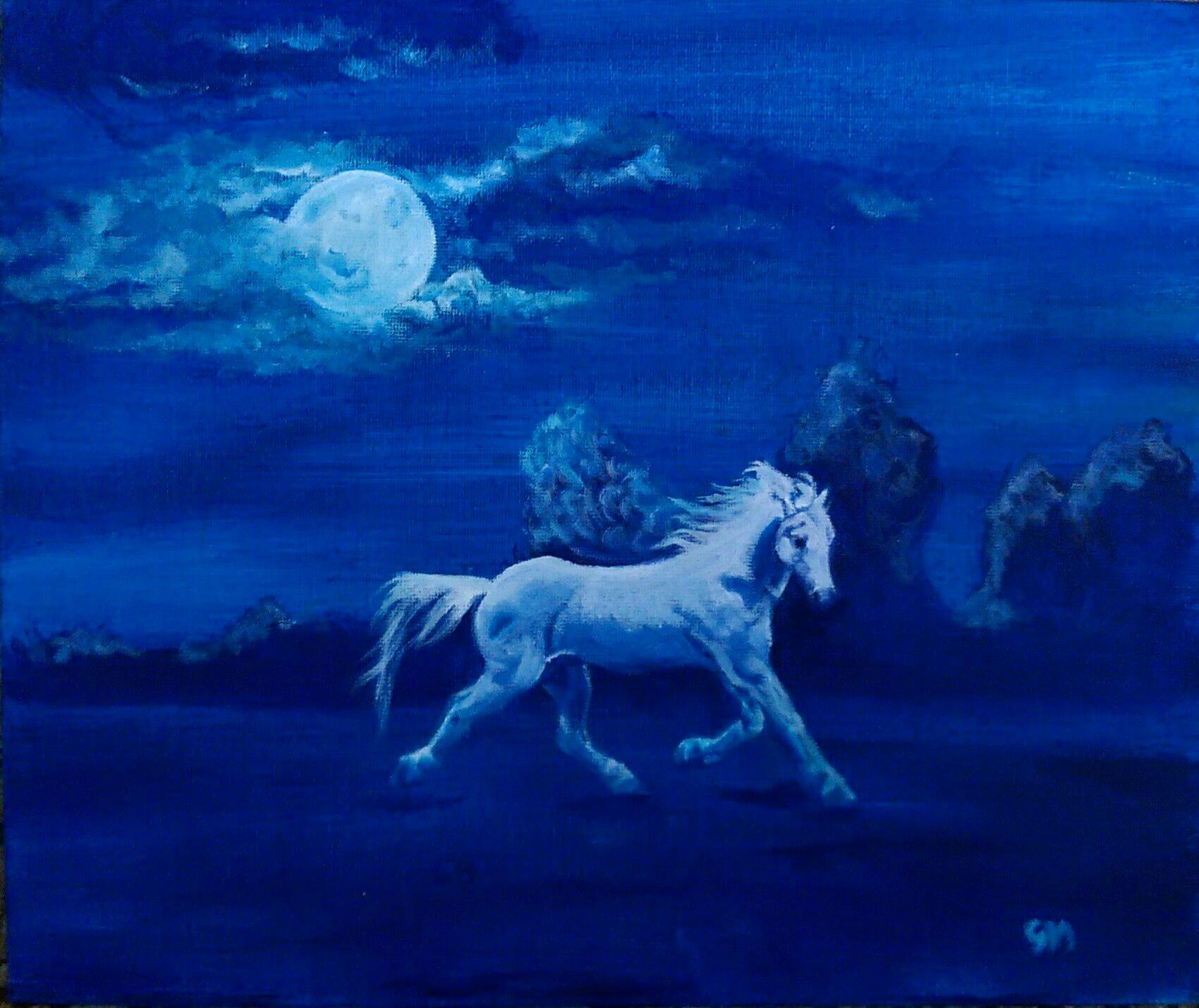 Equine, Art, Pegasus, Unicorn