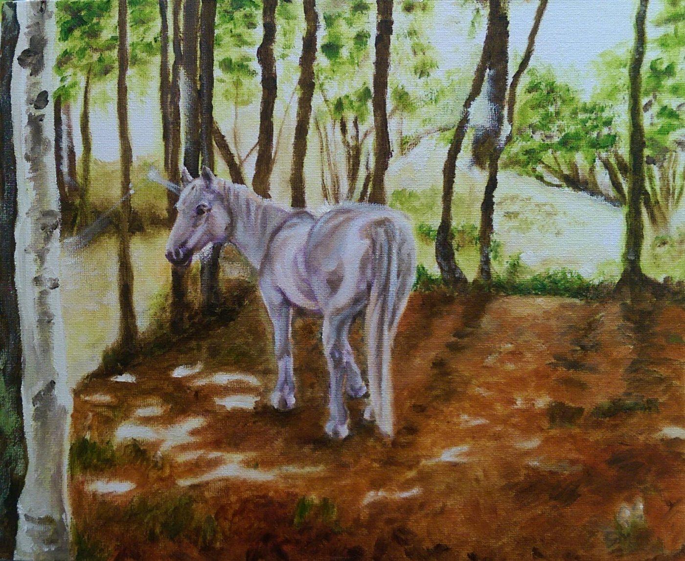 Artist, Horse, Unicorn, Woodland, Secrets