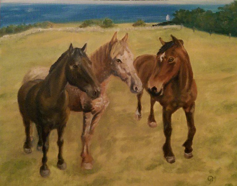 Equine Artist, Dorset, Art