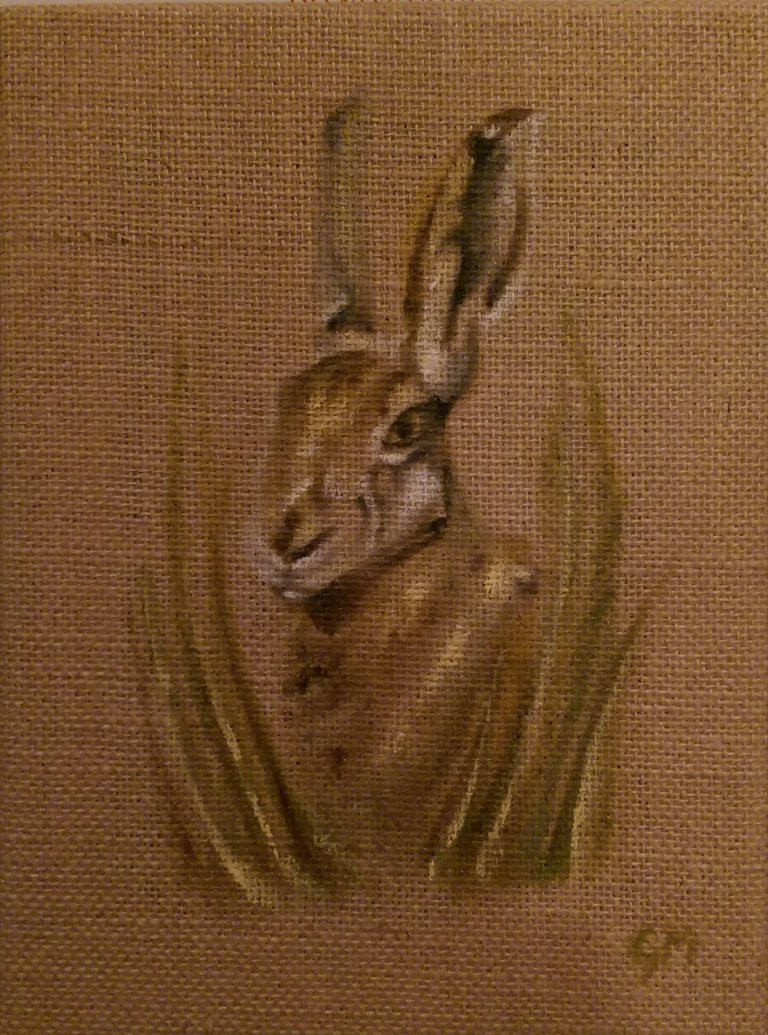 Brown Hare, British Wildlife, Art