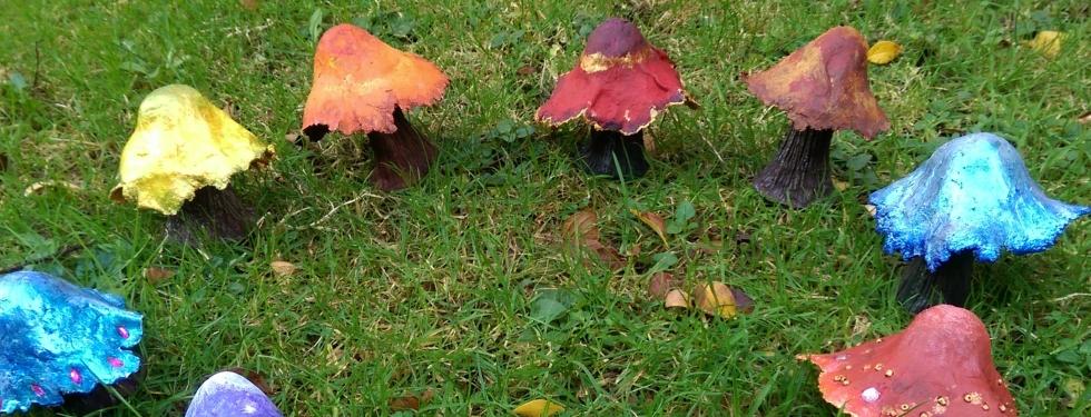 Faery, Fairy, Toadstools, Doors, Dorset, Weymouth