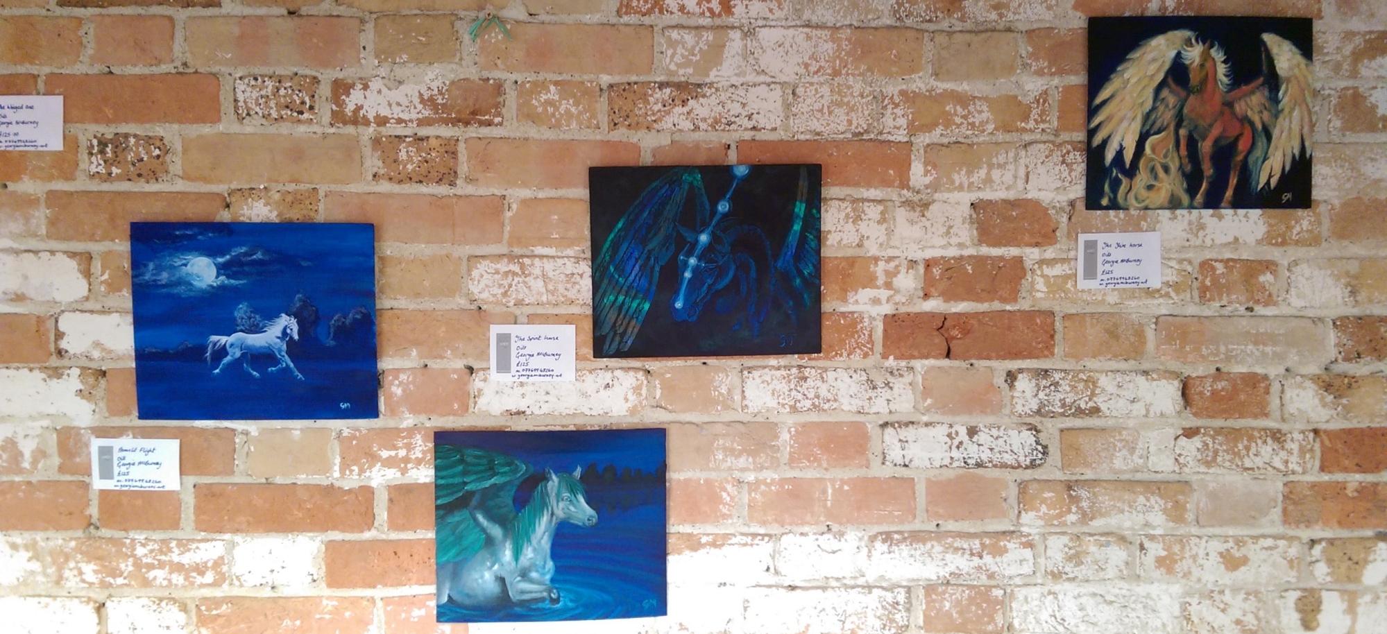 Artwey, Exhibition, Engine Room, Georgie McBurney